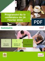 Programme conférence du 16022018