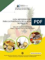 GUÍA METODOLÓGICA Par Ala Enseñanza de La Alimentación y Nutrición