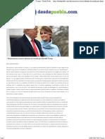 21-01-17 Desconcierto y Temor Abrazan Al Mundo Por Donald Trump – Desde Puebla - Noticias Locales, Deportes y Política