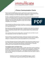 Written Communication Chart