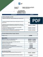 Calendário Administrativo - 2016.2 -Atualizado