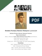 Biodata Perdana Menteri Malaysia 1.docx