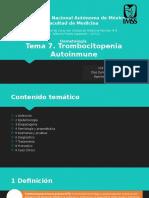 Trombocitopenia Autoinmune