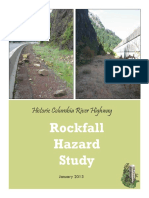 Final Hcrh Rockfall Hazard Study