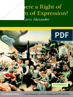 Larry Alexander Is there a right of freedom of expression[1].pdf