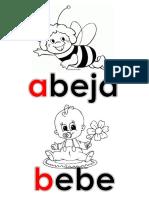 Abecedario Con Imagen