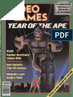 Video Games Volume 1 Number 04 1983-01 Pumpkin Press US