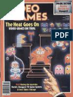Video Games Volume 1 Number 06 1983-03 Pumpkin Press US