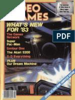 Video Games Volume 1 Number 05 1983-02 Pumpkin Press US
