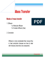 Mass Transfer Notes