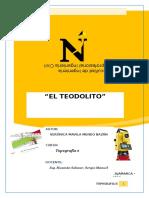 EL-TEODOLITO Levantamiento Topografico Parcela