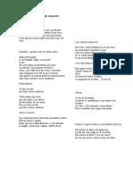 Poemas de César Vallejo