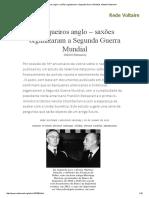Banqueiros Anglo – Saxões Organizaram a Segunda Guerra Mundial, Valentin Katasonov