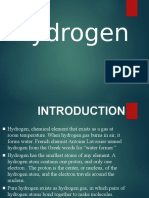 PPT on Hydrogen for   class 11th