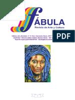 FABULA Revista de Arte y Cultura N° 5 Enero 2017