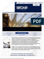 Energy Use and Lighting - Birdair, Inc
