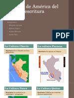 Culturas de América Del Sur y Su Escritura