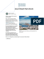 10 Things About Brazil That Shock Foreigners - Business Insider