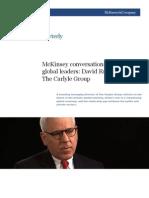 McKinsey_David Rubenstein of the Carlyle Group