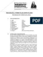 Programa Curricular 2011terceraño