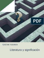 Todorov Tzvetan - Literatura Y Significacion.pdf