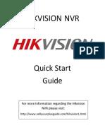 Hi k Vision Nvr Quick Setup