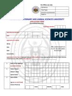 Application_form Tn Vetanary