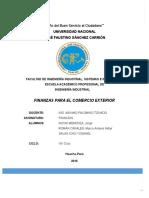 Finanzas Para El Comercio Exterior Aldair