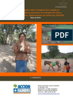 Diagnóstico sobre el Impacto de la Sequía en el Chaco Boliviano (mayo 2010)