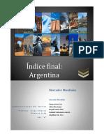 Índice Final Argentina