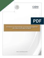 Programa Promoción en La Función Por Incentivos. a2