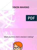 Decision Making Ppt