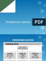Trasfusi Darah