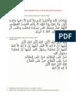 Tata Cara Bilal Dalam Sholat Jum