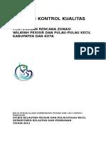 Panduan Kontrol Kualitas Penyusunan RZWP3K-RZRWP3K Kabupaten_Kota_2010