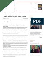 Apoyado por Juan Acha, Hersúa reclama la autoría - Proceso