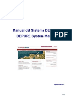 depure manual