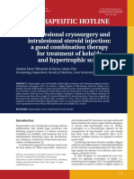 Cryoterapi Dan Suntik Steroid Intralesi