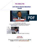 The Truth About Boston Marathon Attack