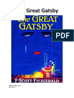 the great gatsby book report
