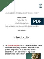 Introducción-Farmacología