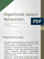 Hipertiroid dalam Kehamilan