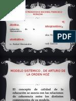 Modelo Sistemico , De Arturo de La Orden