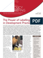 The Power of Labelling in Development
