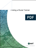 Finding a Route Tutorial