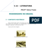 Literatura - Aula 22 - Modernismo no Brasil