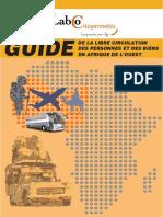 Guide de La Libre Circulation Des Personnes Et Des Biens en Afrique de l'Ouest_LC