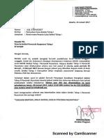 Surat Pernyataan Kelulusan Seleksi Tahap I PN5