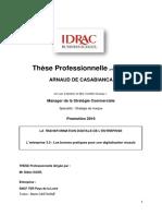 Thesis IDRAC Business School 2016
