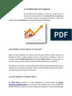 ¿Qué hacer si te dan un billete falso? | Hilton Europe